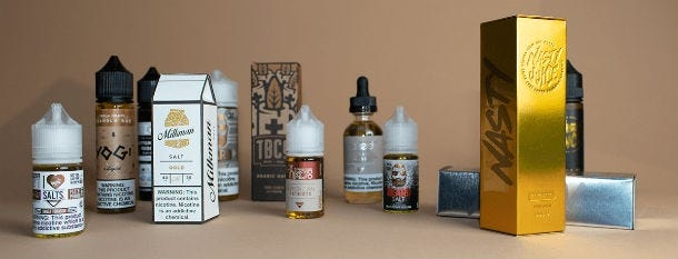 What is vape juice / e-liquid made from