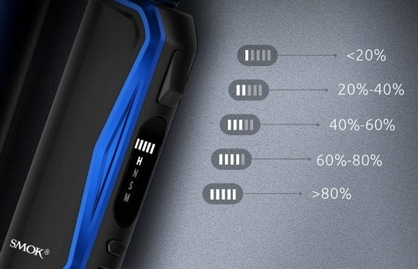 Battery Charge Indicator Light - SMOK Priv N19